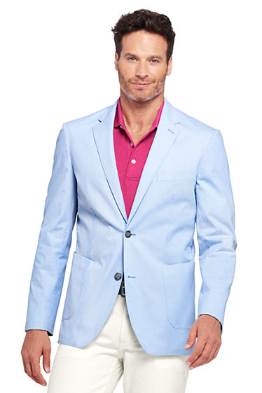 Men's Tailored Fit Stretch Pincord Sport Coat from Lands' End